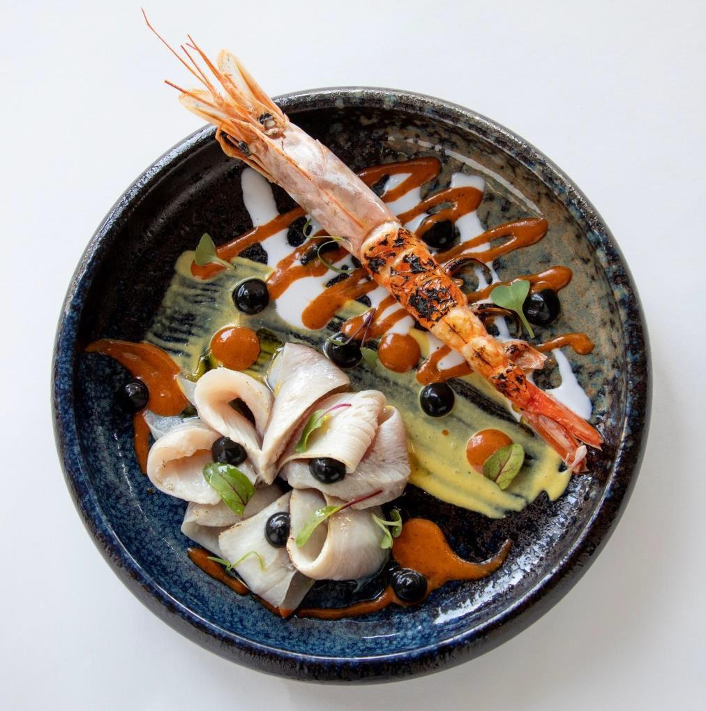 Chef: Grey Sierra Restaurant «Etniko» «La transformación del Calder 59» © 2021