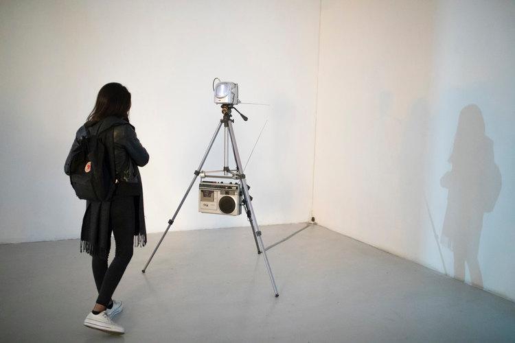 Imagen cortesía de la artista Bárbara González, Exposición Enacción, Galería Gabriela Mistral © 2019