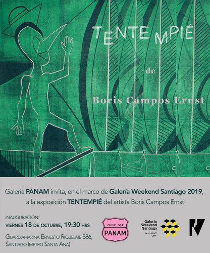 Invitaciòn, Obra de Boris Campos, Foto © 2019 para Spacionomade