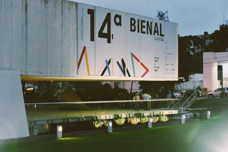 14 bienal Internacional de arte contemporáneo de Curitiba. Foto © 2020