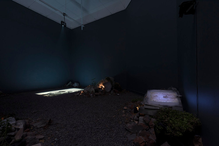 Angie Saiz, Reflex instalación MAC Parque Forestal, 2018 © 2020 Fotografía cortesia de la artista.