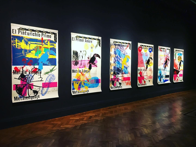 Gonzalo Díaz, La exposición olvidada y una lectura a cuatro artistas chilenos, CAYC, Kilometro 104 © Registro 2020 cortesía de Sebastían Vidal Curador de la Muestra