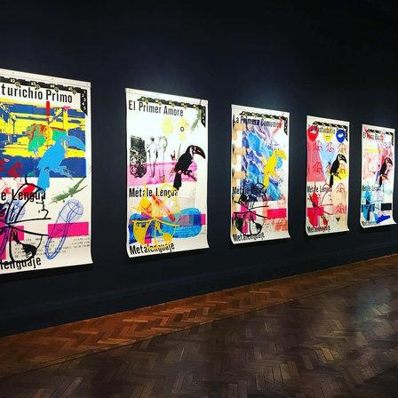 La exposición olvidada y una lectura a cuatro artistas chilenos en Museo Nacional de Bellas Artes