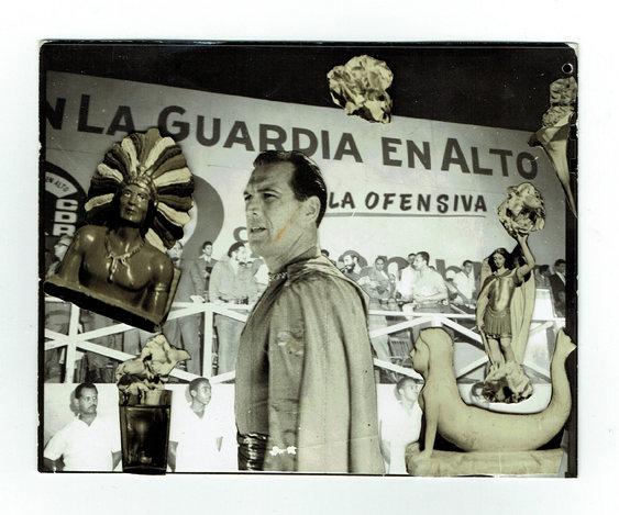Cuando el recuerdo se convierte en polvo del artista Cubano Ricardo Hernández