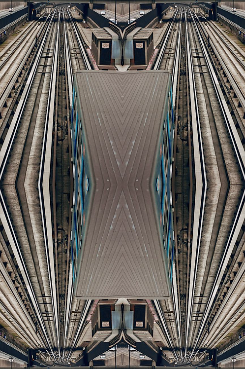 JETHRO MATHER JOO, De la Serie Fractales Arquitectura, 2017, 75X50 cm.