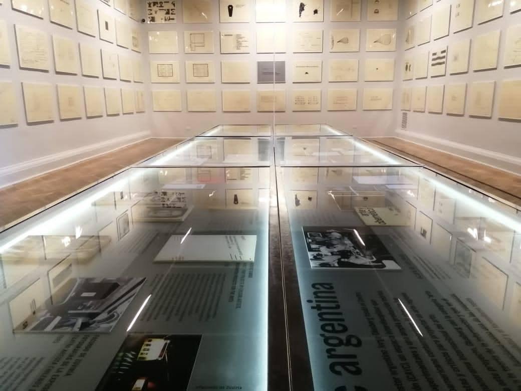 Registro Exposición La exposición olvidada y una lectura a cuatro artistas chilenos © 2020
