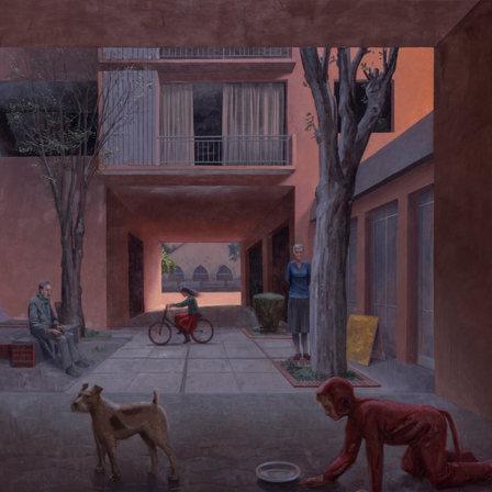 EXCAVACIONES de Pablo Ferrer en Galerìa TIM