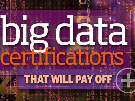 想加薪吗?26项大数据专业认证能帮您