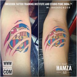 Inkscooltattoos_fcb_football_tattoo