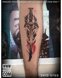 Inkscooltattoos_sword_geometric