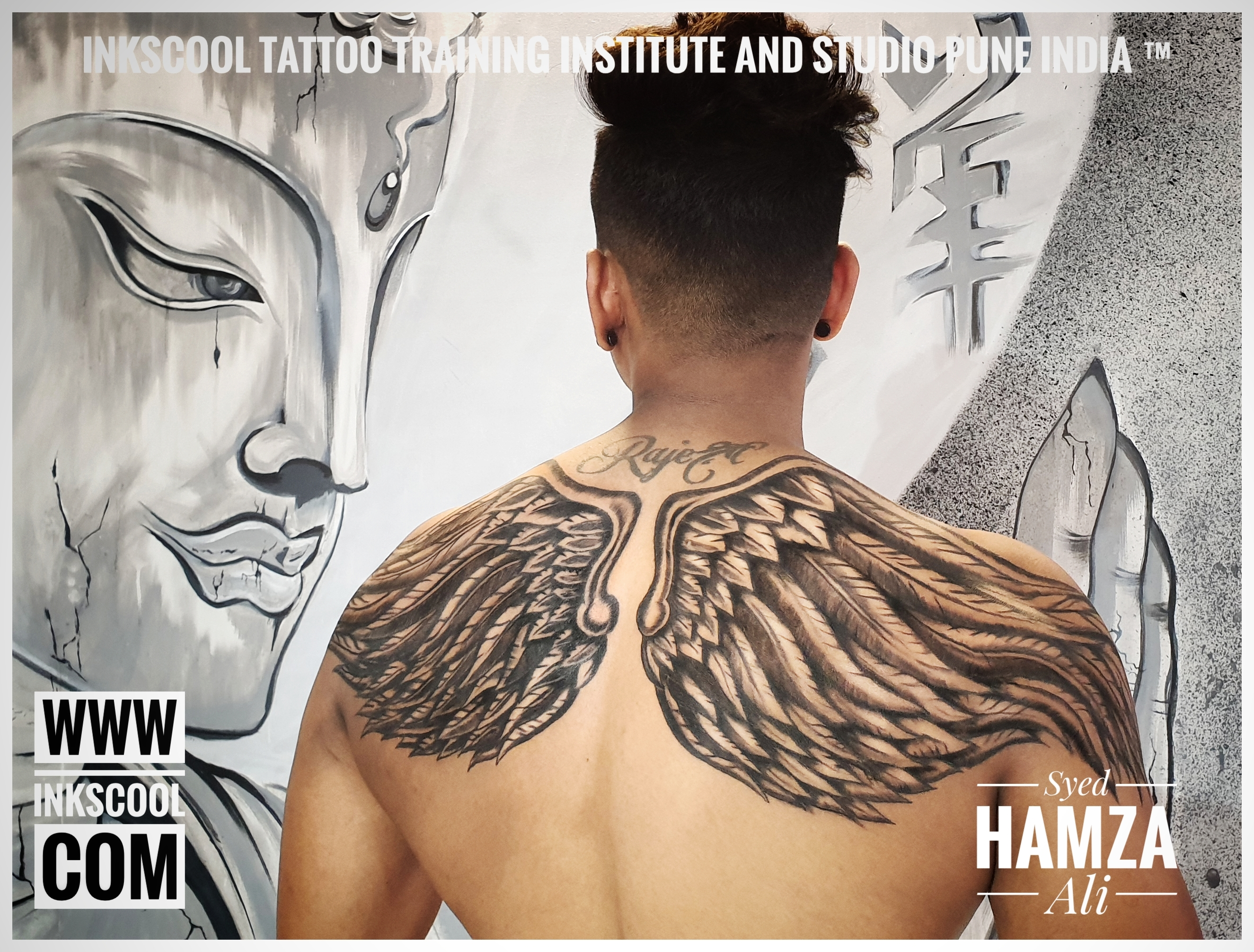 Inkscooltattoos_wings_back_tattoo