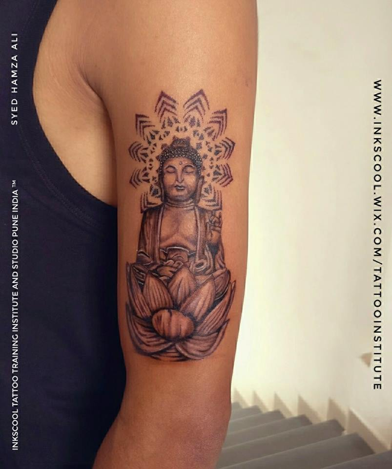 buddhe tattoo by Inkscool tattoo