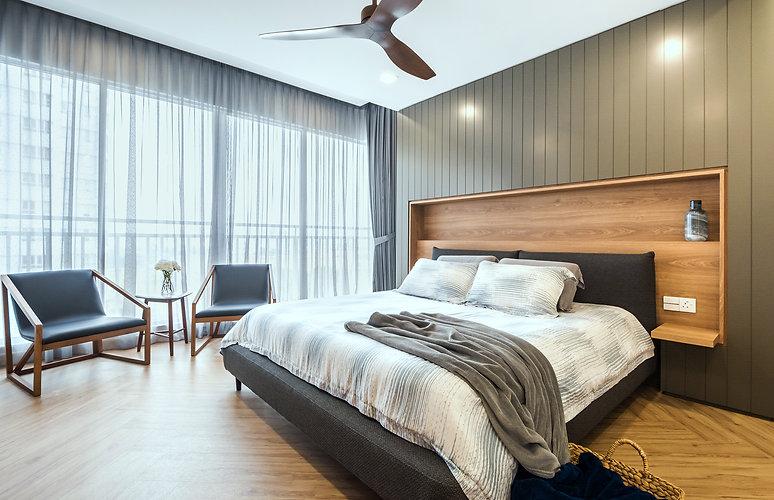 Master Bedroom Interior Design Malaysia Kuala Lumpur Bandar Utama BU9