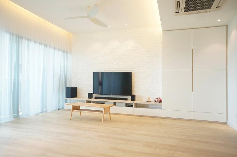 Interior Design Malaysia Kuala Lumpur Bukit Jalil KM1 Living