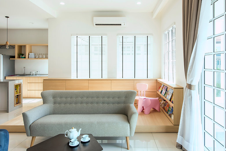 Interior Design Malaysia Kuala Lumpur Setia Eco Glades Cyberjaya Living Dining Kitchen