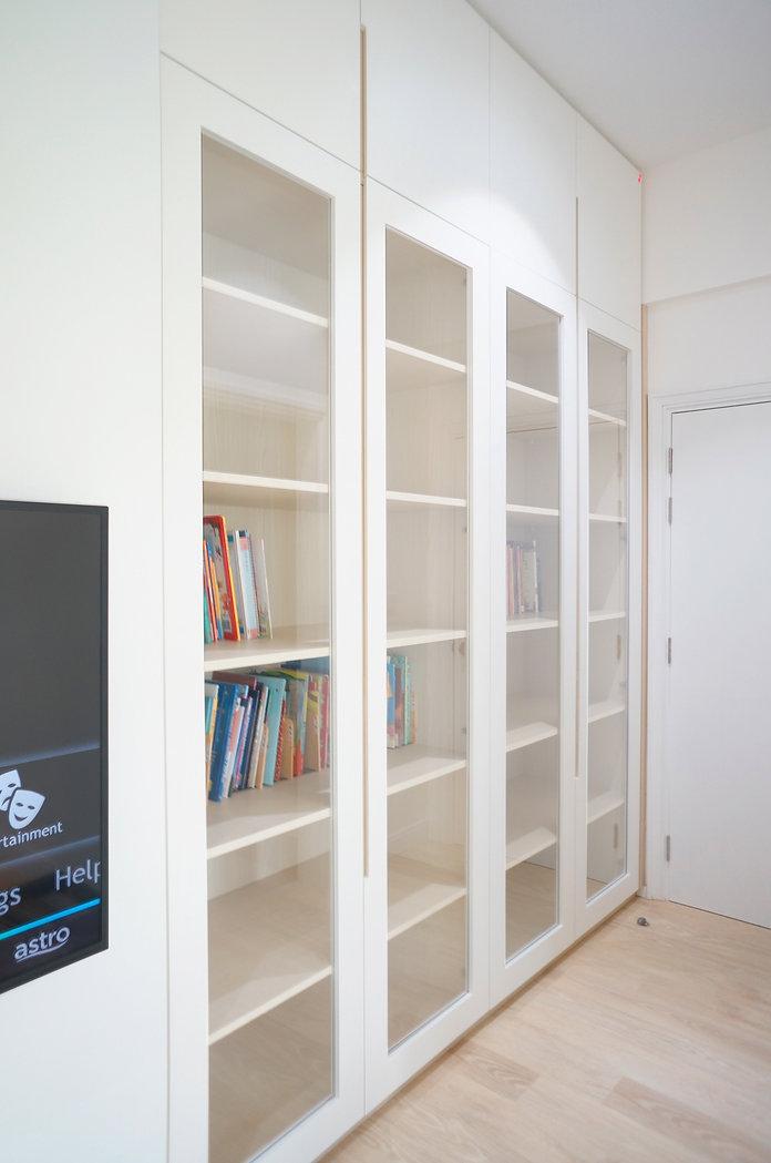 Interior Design Malaysia Kuala Lumpur Bukit Jalil KM1 Study Bookshelf