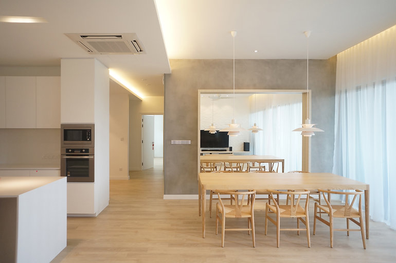 Interior Design Malaysia Kuala Lumpur Bukit Jalil KM1 Dining Dry Kitchen