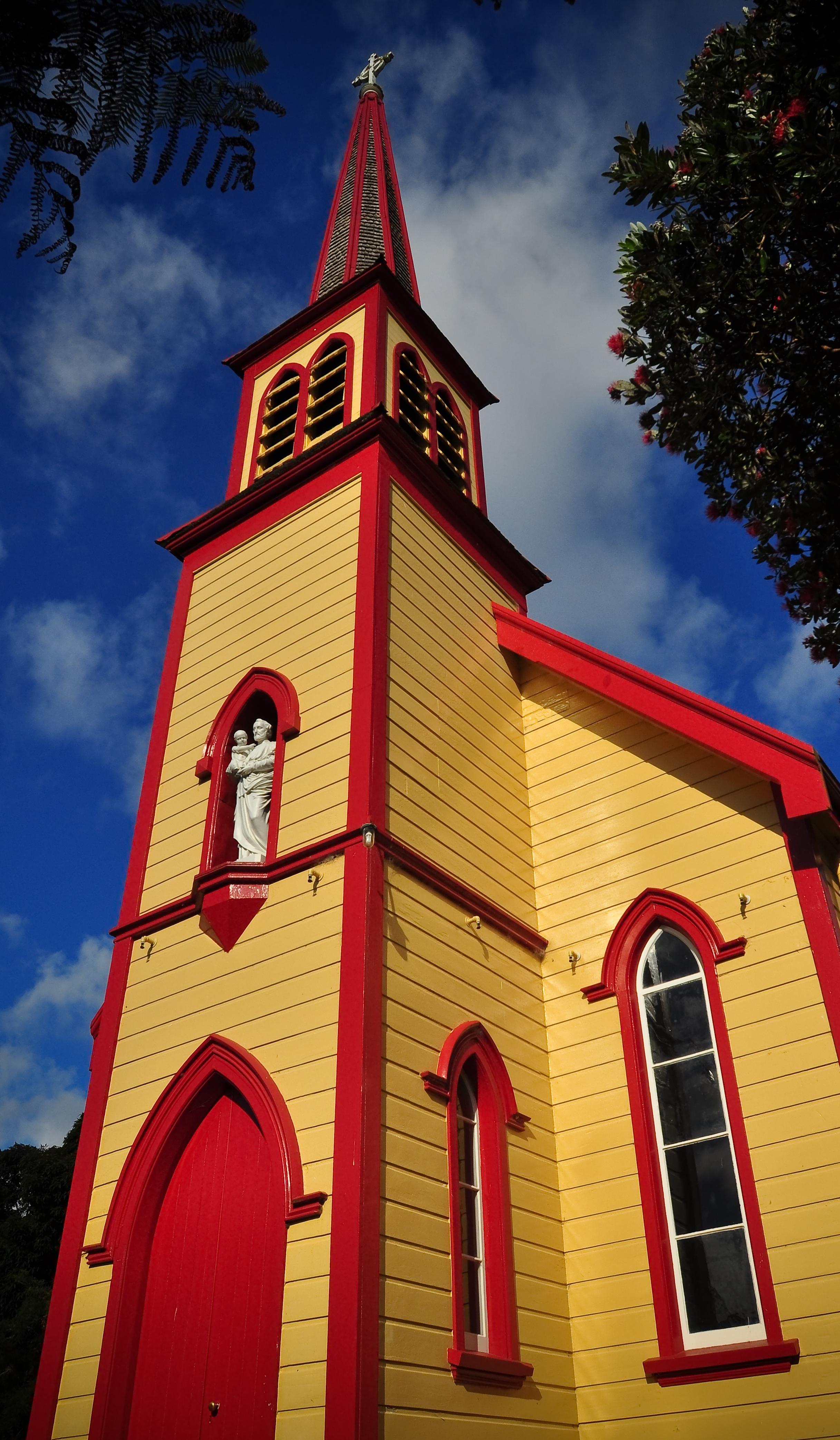 St Joseph's Church - Jerusalem - Whanganui