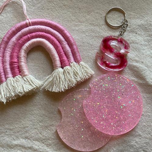 Pretty In Pink 3-Piece Set