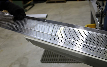 Aluminum leaf guard