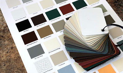 Preferred Seamless Gutters color selection