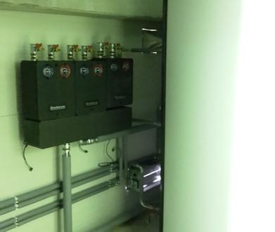 strojovňa kotolne s akumulačnou nádržou