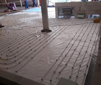 úsporné podlahové vykurovanie
