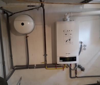 montáž plynového kondenzačného kotla