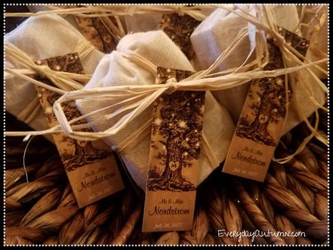 Wedding Favor Oganic Soap