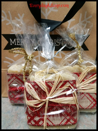 Peppermint / Honey Almond & Orange Blossom / Honey Almond Holiday Soap