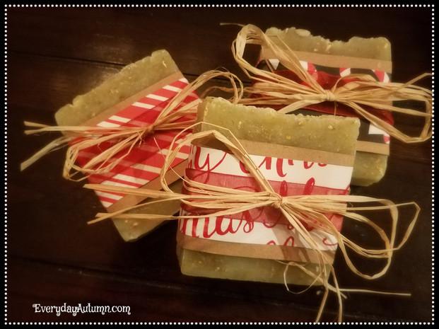 Lemon Lavender Holiday Soap