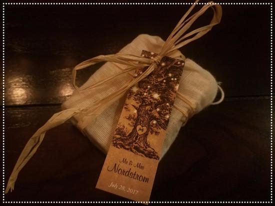 Wedding Favor Organic Soap