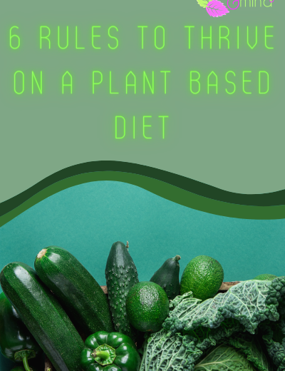The 6 rules to thrive on a plant based diet!
