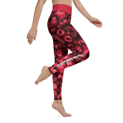 Raspberries  - Be Incredible Pilates & Yoga Leggings