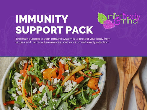 Immunity Support Ebook - with recipes