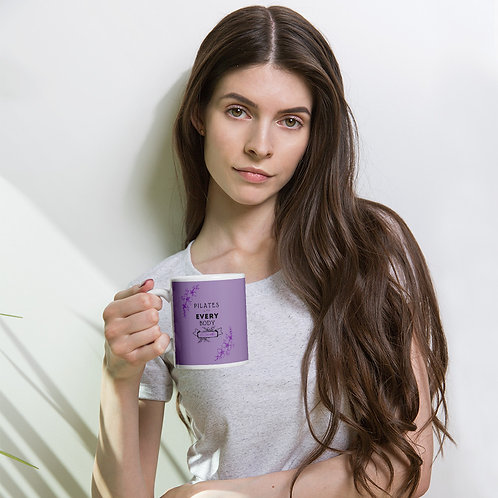 Pilates is for Every Body  - Purple Mug