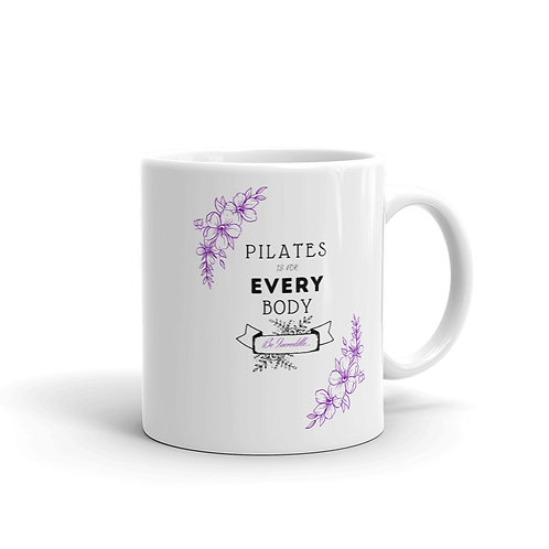 Pilates is for Every Body - White Mug