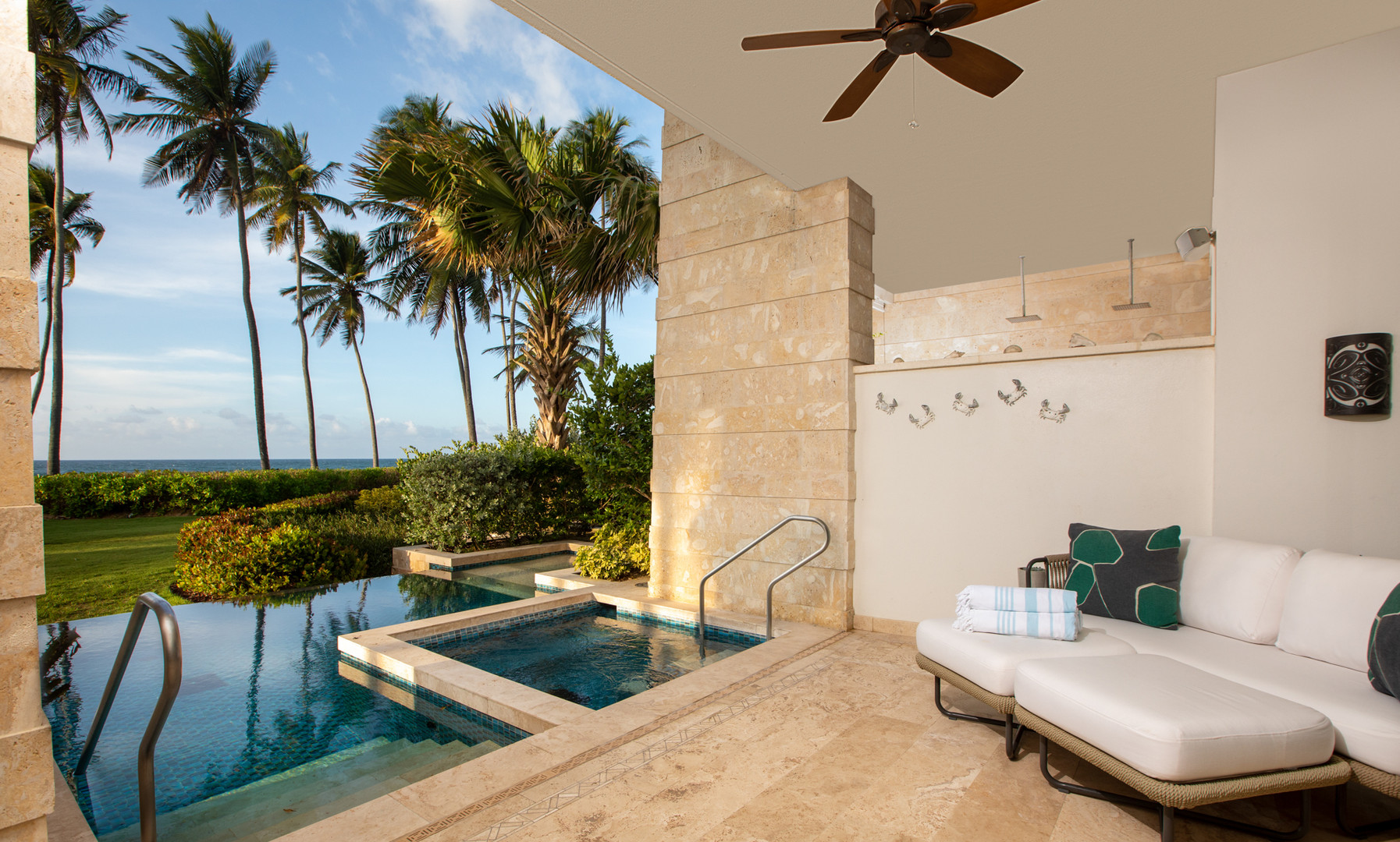 West Beach - Private Terrace and Pool