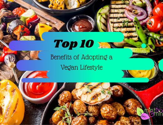Top 10 reasons to adopt a vegan lifestyle