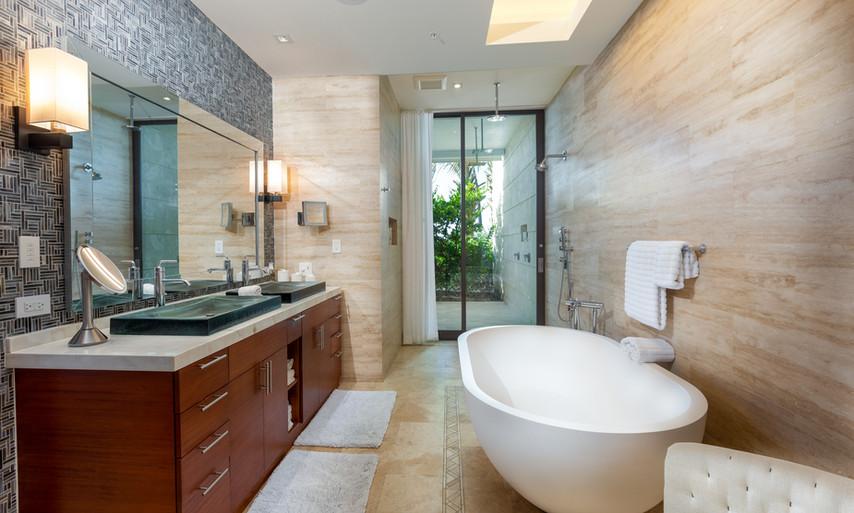West Beach - Master Bathroom