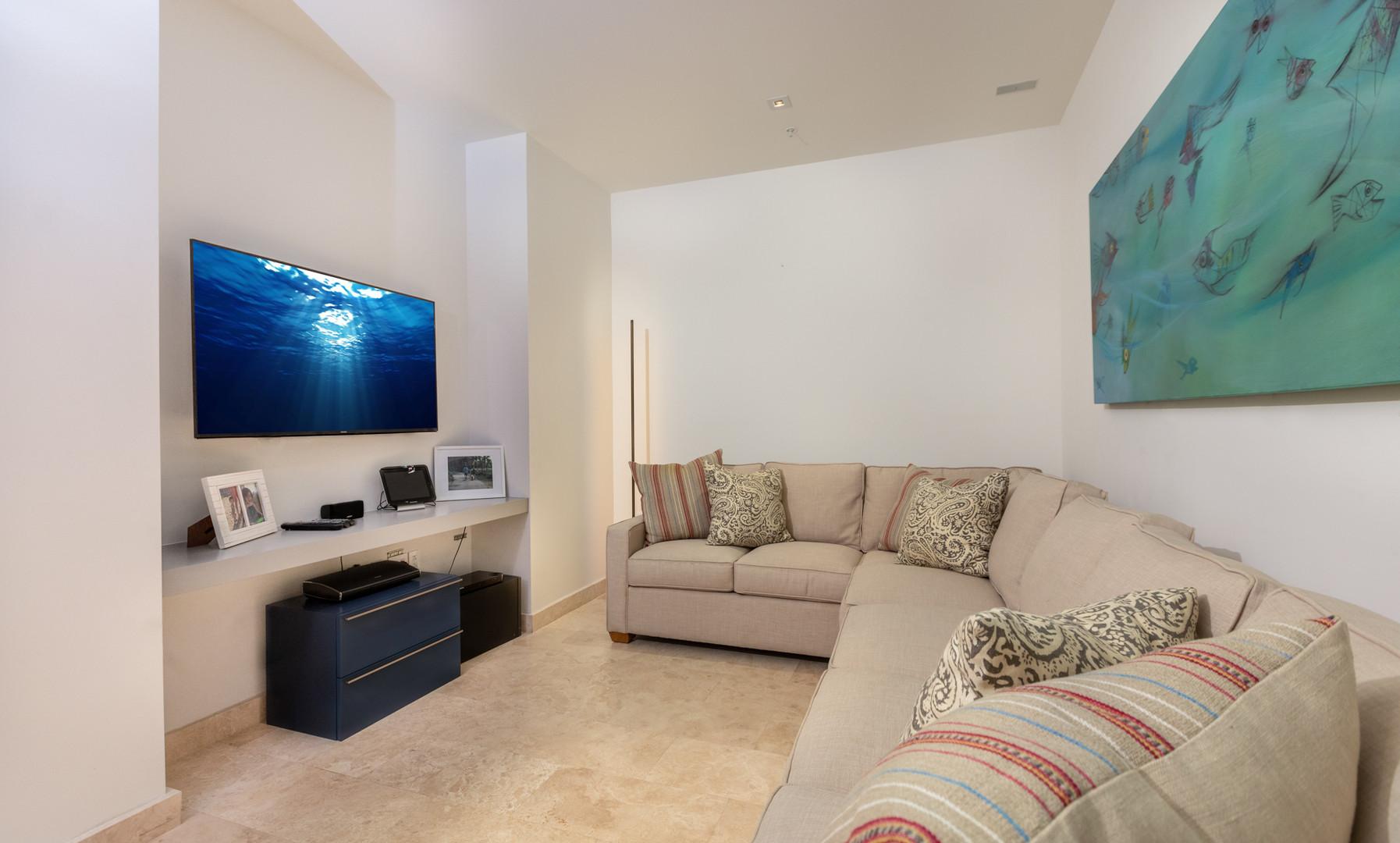 West Beach - Soundproof Media Room