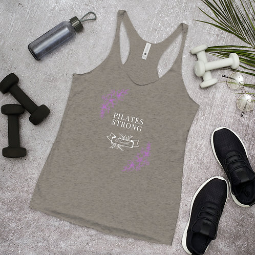 Women's Racerback Tank - Pilates Strong
