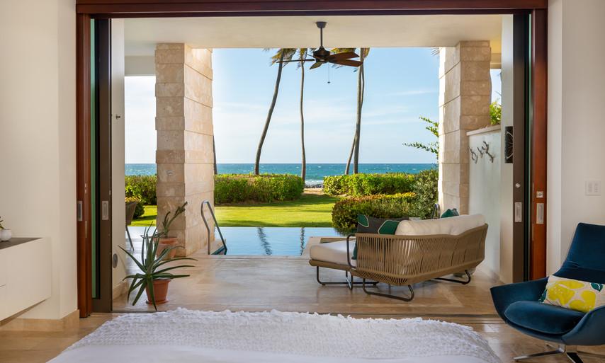 West Beach - Master Suite Terrace
