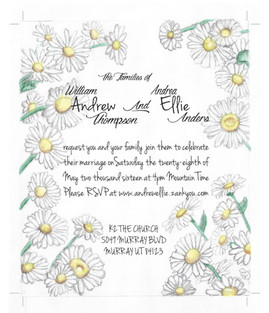 Thompson Wedding Invitation