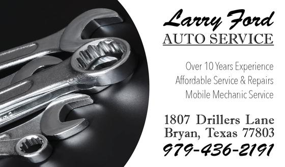 Larry Ford Auto Service