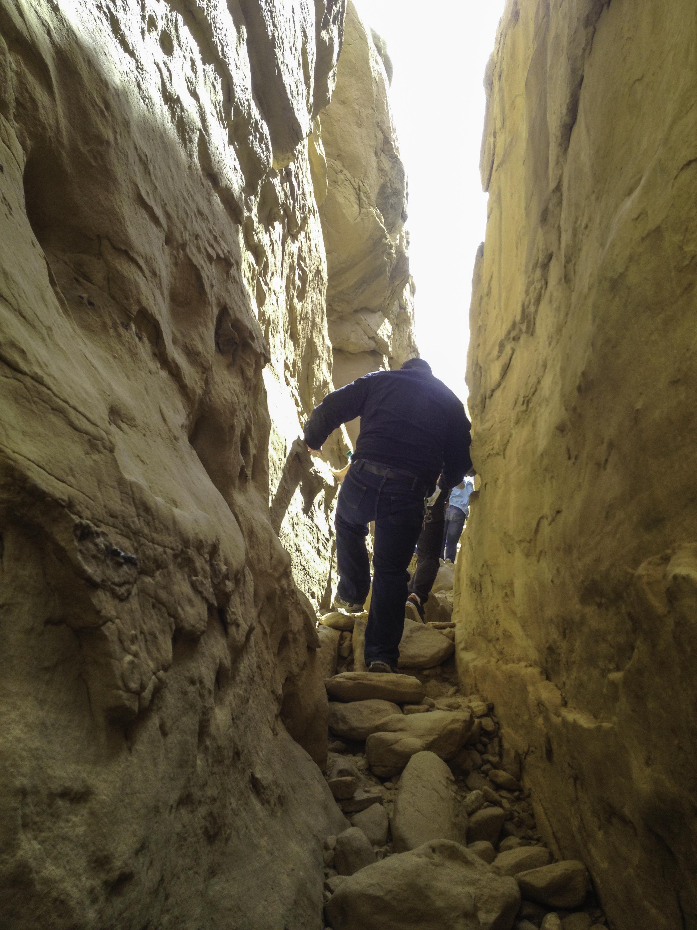 Climbing Chaco