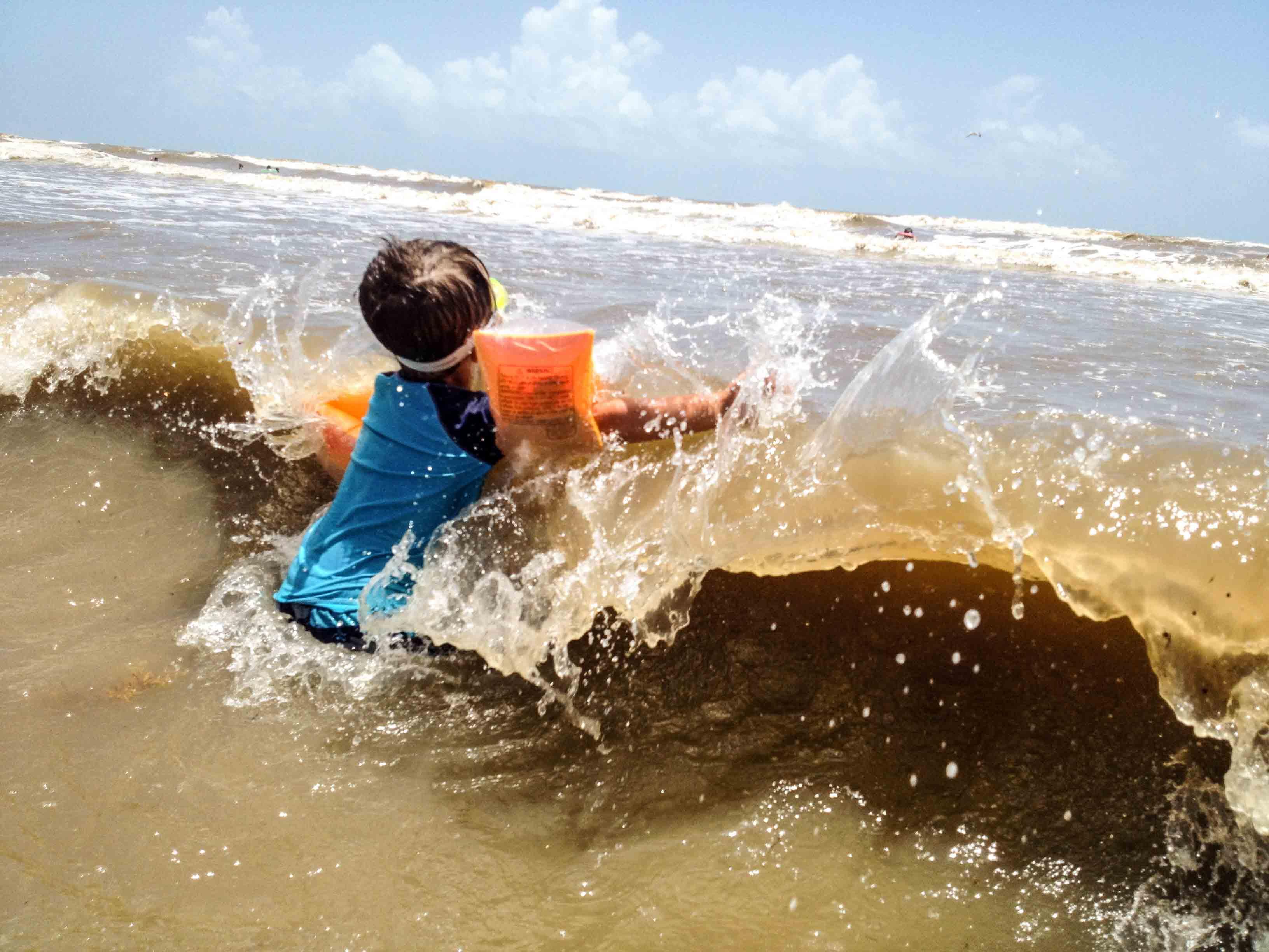 Untitled (Gulf Splash)