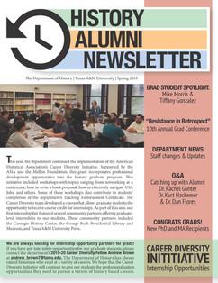 History Department Newsletter