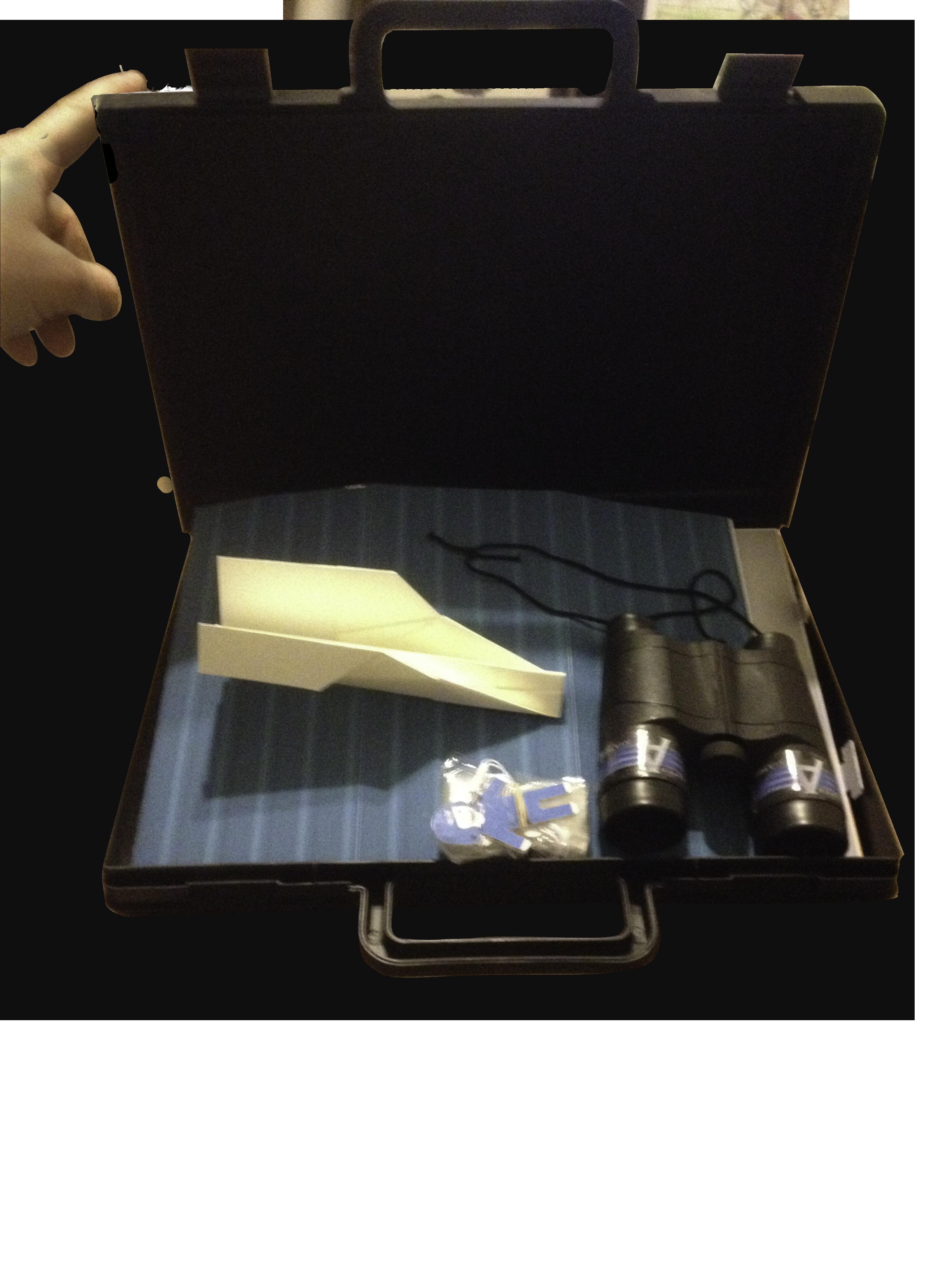Paper Aviator Case Float