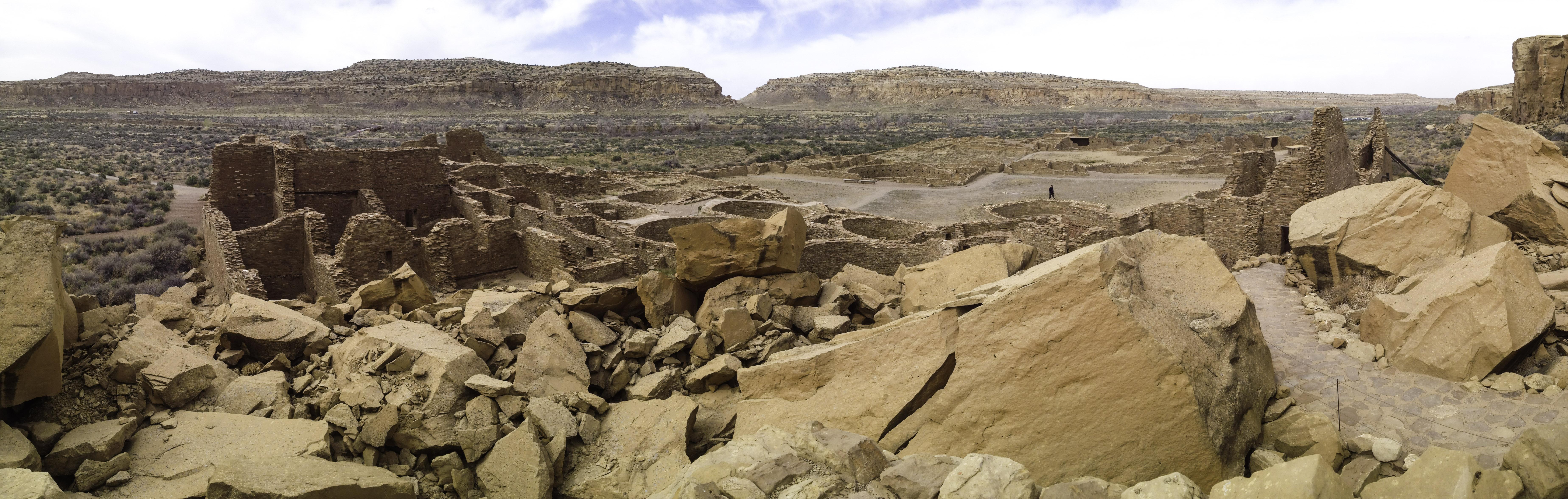 Chaco Canyon Pano